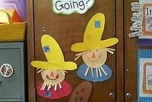Fall Preschool Themes / by Monica Morneau
