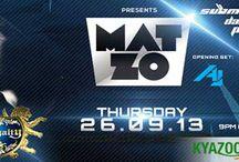 KyaZoonga.com: Buy tickets for MAT ZO @CLUB ROYALTY