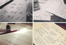 Calligraphy - Copperplate