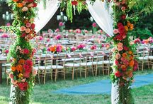 Inspiration: Ceremony canopies & more / A beautiful canopy creates an exquisite focal point for your MOMENTS wedding ceremony and provides a stunning backdrop for your precious photos. www.weddingincrete.com