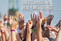 Guests update and real time statistics