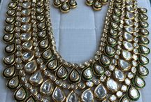 Neckpiece Love / Traditional Indian jewellery is a must to enhance the look altogether for occasions
