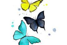 Tatuaje cu fluturi