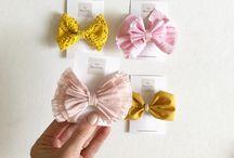 Fleurfolly / Hand made bows made by me! www.fleurfolly.bigcartel.com