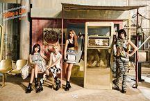 2NE1 / CL, Dara, Bom, Minzy. Bias: CL