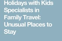 Holiday with kids