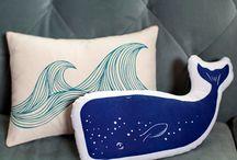 Nursery Home Decor / Fun & cute pillow case design for nursery and kids bedroom