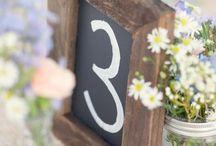 DIY wedding crafts / DIY craft ideas for your wedding day.