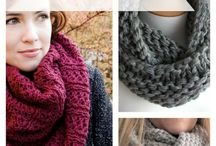 The Infinity Scarf - Free patterns to knit or crochet. ༺✿ƬⱤღ✿༻