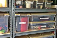 Garage organization  / by Michelle Strain