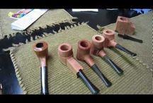 Pipe in legno