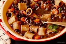Simmering Soups / There is nothing better than a warm bowl of delicious soup.