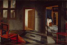 1600th Dutch interiors