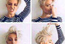 Haircut for shorthair / Hairstyle inspiration. #pixie #shorthair #attitude #messyhair #haircut