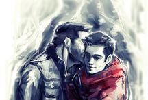 Sterek / Homosexuální pár (Teen Wolf)