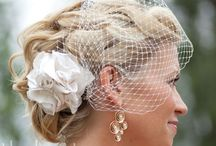 Bridal Hair - Casual Up-Do's / Inspiration for Soft/Romantic bridal up-do's