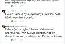 Adnan Oktar twitter / Adnan Oktar'ın twitter'daki önemli paylaşımlarını buradan takip edebilirsiniz.