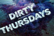 #DirtyThursdays / We are making Thursdays DIRTY!! We are kicking off 2016 with a new feature for book reviews:  #DirtyThursday !  DIRTY THURSDAYS appears on the blog http://milehighkinkbookclub.com  Join us each week as we review a new book with DIRTY in the title.