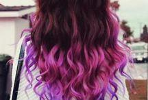 hair colourfull