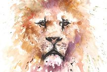 Fantastic Watercolors / The most gorgeous and wonderful watercolor arts.