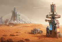 Mars etc