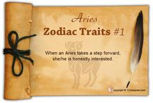 Aries Zodiac Traits / Find out about Aries characteristics and Aries personality traits.