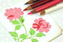 Prismacolor Pencils / Coloring & Shading with Prismacolor Pencils.