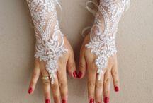 sarung tangan pengantin