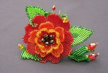 Beaded Flowers / by Judy Morgan