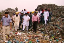 Bhagtan wala garbage dump in Amritsar / Punjab Deputy Chief Minister Mr. Sukhbir Singh Badal, alogwith Revenue Minister Mr. Bikram Singh Majithia, today visited the Bhagtan wala garbage dump and asked the administration to revamp it in next 2 months by constructing 10 feet high boundary around 15 acre dump site besides using the scientific ways to process the wastage.