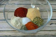 DIY Sauce & Spice  Mixes