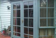 Bay Window with Doors