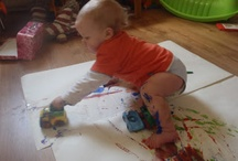 Messy Play for babies and toddlers