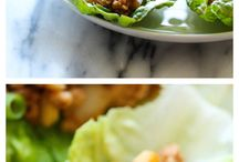 LETTUCE WRAPS RECIPES / by James Valley  Sr
