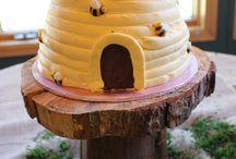 Birthday ideas / Bee hive cake