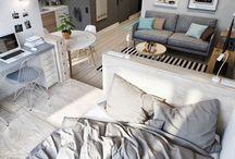 LITS GAIN DE PLACE / De jolis lits tiroirs, lits escamotables, lits superposés adultes, lits mezzanines des inventions bien pratiques !