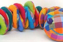 Ideas handmade plush toys and pillows