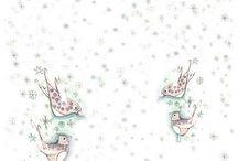 Papier ryżowy decoupage - Boże Narodzenie / Kolekcja papierów ryżowych firmy ITD Collection