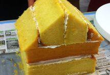 cake huisjes