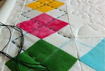 Quilting - Hand Quilting designs, ideas