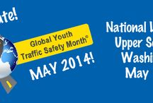 Global Youth Traffic Safety Month / May is Global Youth Traffic Safety Month. Summer is the deadliest season for young drivers. Let's work together to change that stat during Global Youth Traffic Safety Month.  Pins do not necessarily reflect the views of or act as an endorsement by ASAC.