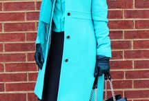 Colorful Work Outfits - Winter