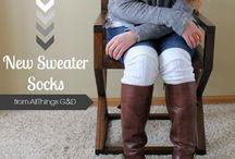 boot socks / by Sharon Elenterio Donilon
