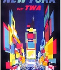 Vintage Airline Posters / View more at www.IVPDA.com #VintagePosters
