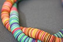 Fimo polymer clay jewelery