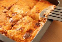 Pâtes, lasagnes, spaghetti, tagliatelle, ravioli etc