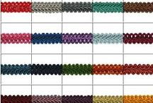 Trims & Fringes / Fabric trim and fringes for home decor, costumes, clothing embellishment, curtains and much more! / by Expo International Inc.