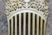 Antique Hair Combs / by Kristi Miles
