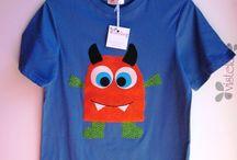 Decorar camisetas y ropa peque