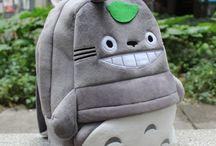 Totoro addict / Fan absolue de Totoro, j'aime tout ce qui représente ce personnage attachant des Studios Ghibli